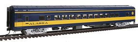 Life-Like-Proto 85 ACF 44-Seat Coach Lighted Alaska Railroad HO Scale Model Train Passenger Car #12651