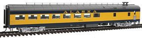 Life-Like-Proto 85 ACF Cafe-Lounge Lighted Alaska Railroad HO Scale Model Train Passenger Car #12700
