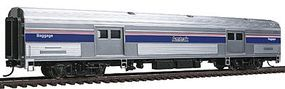 Life-Like-Proto 73 Budd Baggage Car - Ready to Run - Amtrak(R) HO Scale Model Train Passenger Car #13041