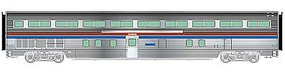 Life-Like-Proto 85 Budd Hi-Level 72-Seat Coach Amtrak HO Scale Model Train Passenger Car #13312