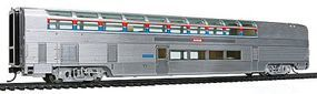 Life-Like-Proto 85 Budd Hi-Level Sky Lounge Amtrak HO Scale Model Train Passenger Car #13321