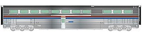 Life-Like-Proto 85 Budd Hi-Level Diner Amtrak(R) HO Scale Model Train Passenger Car #13332