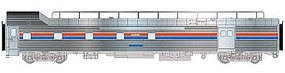 Life-Like-Proto 85 PS Baggage-Dormitory Transition Car Amtrak HO Scale Model Train Passenger Car #13342