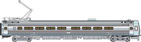 Life-Like-Proto Budd Metroliner EMU Parlor Car Penn Central/Amtrak HO Scale Model Train Passenger Car #13823