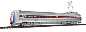 Life-Like-Proto Budd Metroliner Electric Multiple Unit (EMU) Coach - Standard DC Amtrak(R) #822 (Phase I, Wide red & blue Stripes) - HO-Scale