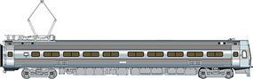 Life-Like-Proto Budd Metroliner EMU Coach Penn Central/Amtrak HO Scale Model Train Passenger Car #13843