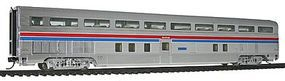 Life-Like-Proto 85 Budd Hi-Level 68-Seat Step-Down Coach Amtrak HO Scale Model Train Passenger Car #14302
