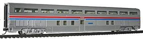 Life-Like-Proto 85 Budd Hi-Level 68-Seat Step-Down Coach Amtrak(R) HO Scale Model Train Passenger Car #14304