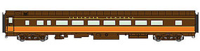 Life-Like-Proto 85 PS 56-Seat Coach LTD Illinois Central HO Scale Model Train Passenger Car #16602