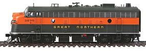 Life-Like-Proto EMD F7A-B Set Great Northern #363A, 365B HO Scale Model Train Diesel Locomotive #40705