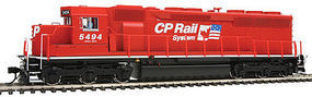 Life-Like-Proto EMD SD45 DCC Canadian Pacific #5494 (Twin Flags) HO Scale Model Train Diesel Locomotive #41069