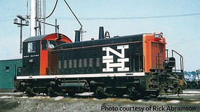 Life-Like-Proto EMD SW1200 w/LokSound Select & DCC New Haven #648 (black, red, white, Large NH Logo)