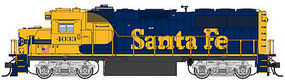 Life-Like-Proto EMD GP60 DCC Santa Fe #4033 HO Scale Model Train Diesel Locomotive #41809
