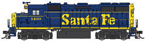 Life-Like-Proto EMD GP35 Phase 2 DCC Santa Fe #1409 HO Scale Model Train Diesel Locomotive #42150
