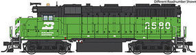 Life-Like-Proto EMD GP35 Phase 2 DCC Burlington Northern #2581 HO Scale Model Train Diesel Locomotive #42153