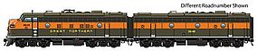 Life-Like-Proto EMD F7A-B Set DC Great Northern #370A, 372B HO Scale Model Train Diesel Locomotive #47706