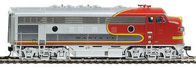 Life-Like-Proto EMD F7A 36 Dynamic Fan Santa Fe #302L HO Scale Model Train Diesel Locomotive #47902