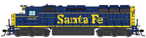 Life-Like-Proto EMD SD45 - Standard DC - Santa Fe #1843 HO Scale Model Train Diesel Locomotive #48067