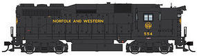 Life-Like-Proto EMD GP30 Standard DC Norfolk & Western #554 HO Scale Model Train Diesel Locomotive #48862