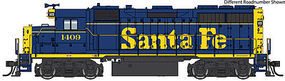 Life-Like-Proto EMD GP35 Phase 2 - Standard DC - Santa Fe #1387 HO Scale Model Train Diesel Locomotive #49150