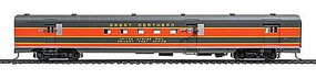 Life-Like-Proto 85 ACF Baggage-Mail Empire Builder - Great Northern HO Scale Model Train Passenger Car #9040