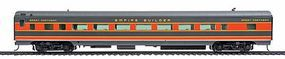 Life-Like-Proto 85 ACF 60-Seat Coach Empire Builder Great Northern HO Scale Model Train Passenger Car #9052