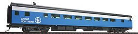 Life-Like-Proto 85 ACF 60-Seat Coach Empire Builder Great Northern HO Scale Model Train Passenger Car #9062