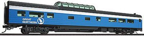 Life-Like-Proto 85 Budd 46-Seat Vista Dome Coach Great Northern HO Scale Model Train Passenger Car #9067