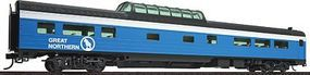 Life-Like-Proto 85 Budd 46-Seat Vista Dome Coach Great Northern HO Scale Model Train Passenger Car #9077