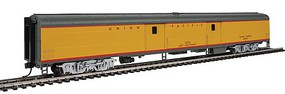 Life-Like-Proto 85' ACF Baggage Car Union Pacific(R) Heritage Fleet Ready to Run Standard UPP #6334 Art Lockman (Armour Yellow, gray, red)