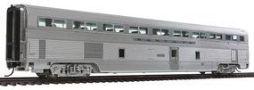 Life-Like-Proto 85 Budd Hi-Level 72-Seat Coach Santa Fe #700-724 HO Scale Model Train Passenger Car #9294