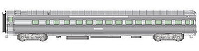 Life-Like-Proto 85 P-S 42-Seat Coach Observation Santa Fe HO Scale Model Train Passenger Car #9463
