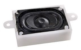 LokSound Loudspeaker 16x25mm Sqr - HO-Scale