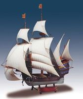 Santa Catarina Sailing Boat (Re-Issue) Plastic Model Sailing Ship Kit 1/244 Scale #202