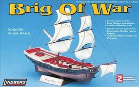 Lindberg Brig of War Sailing Ship (Re-Issue)