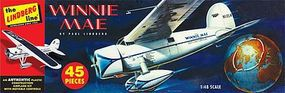 Lindberg Winnie May Floatplane Aircraft Plastic Model Airplane Kit 1/48 Scale #502
