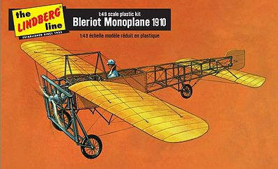Lindberg 1910 Bleriot Monoplane (Re-Issue) -- Plastic Model Airplane KIt -- 1/48 Scale -- #503