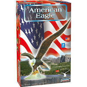 Lindberg Bald Eagle -- Plastic Model Animal Kit -- 1/6 Scale -- #70315