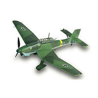 Lindberg Junkers JU87 Stuka Military Aircraft Plane Plastic Model Airplane Kit 1/48 Scale #70508
