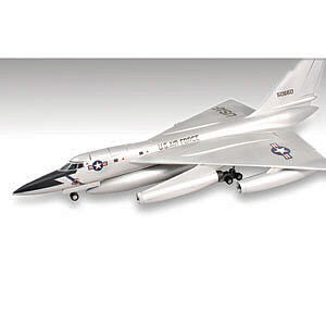 Lindberg B-58 Hustler Bomber Military Aircraft Plane -- Plastic Model Airplane Kit -- 1/64 Scale -- #70540