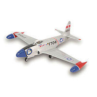 Lindberg F-80 C Shooting Star Military Aircraft Plane Plastic Model Airplane Kit 1/48 Scale #70552