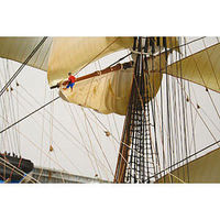 Lindberg SEA WITCH BOAT Plastic Model Sailing Ship Kit 1/96 Scale #70812