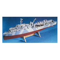 Lindberg Amphibious Transport Landing Ship Boat Plastic Model Military Ship Kit 1/288 Scale #70829