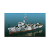 Lindberg Minesweeper Military Boat Plastic Model Military Ship Kit 1/125 Scale #70830