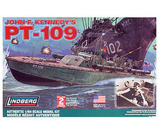 Lindberg PT-109 Military Patrol Boat Plastic Model Ship Kit 1/64 Scale #70886
