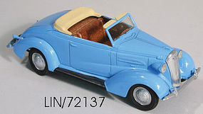 Lindberg 37 Chevy Convertible Plastic Model Car 1/32 Scale #72137