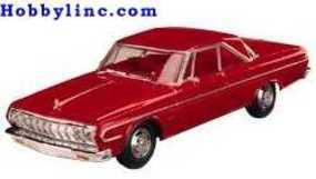 Lindberg 64 Plymouth Belvedere Vehicle Plastic Model Car Kit 1/25 Scale #72183