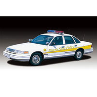 Lindberg Ford Crown Victoria State Police Car Illinois Cop Plastic Model Car Kit 1/25 Scale #72776