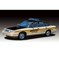 Lindberg Ford Crown Vic TN State Police Prepainted Cop Plastic Model Car Kit 1/25 Scale #72778