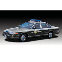 Lindberg Ford Crown Vic NC State Police Prepainted Cop Plastic Model Car Kit 1/25 Scale #72779
